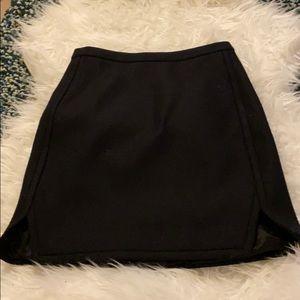 J.Crew Wool mini skirt || 00